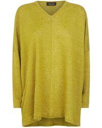 Eskandar - Long Sleeve Lightweight Linen Knit Top - Lyst