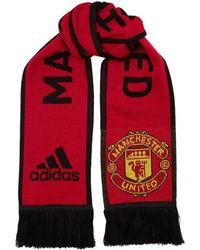 adidas - Manchester United Scarf - Lyst