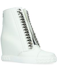 Casadei - Wedge Chain Trainers - Lyst