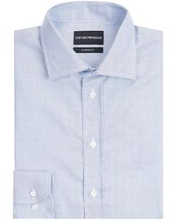 Emporio Armani - Stripe Long Sleeve Shirt - Lyst