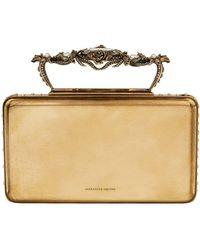 Alexander McQueen - Embellished Cigarette Case Clutch - Lyst