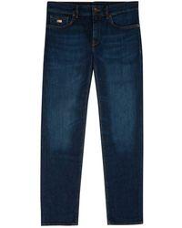 BOSS - Maine Regular Fit Jeans - Lyst