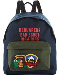 DSquared² - Scout Badge Backpack - Lyst
