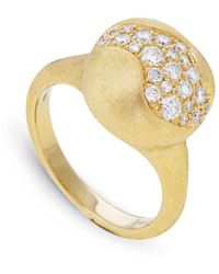 Marco Bicego - Yellow Gold Africa Diamond Ring - Lyst