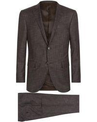 Corneliani | Wool-silk Two-piece Suit | Lyst