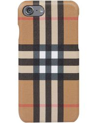 Burberry - Vintage Check Phone Case - Lyst