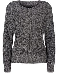 1648d4f871 Lyst - Isabel Marant Organic Wool Lace Up Front Charley Sweater in Gray