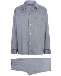 Harrods - Birdseye Print Pyjama Set - Lyst