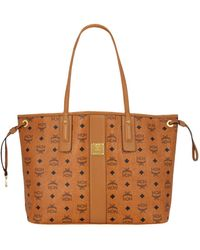 MCM - Medium Reversible Project Visetos Shopper - Lyst