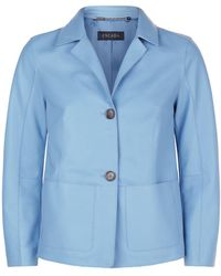 ESCADA - Lindsor Leather Jacket - Lyst