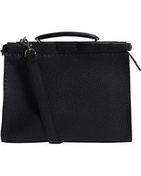 Fendi - Leather Peekaboo Bag - Lyst