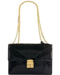 Stalvey - Alligator Shoulder Bag - Lyst