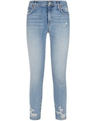 Agolde - Sophie Cropped Skinny Fit Jeans - Lyst