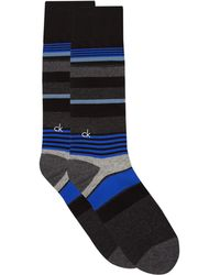 Calvin Klein - Striped Cotton Socks - Lyst