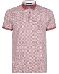 Ted Baker | Enders All Over Print Polo Shirt | Lyst