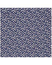 Eton of Sweden - Floral Pocket Square - Lyst