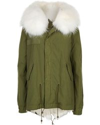 Mr & Mrs Italy - Fur Lined Hooded Parka - Lyst