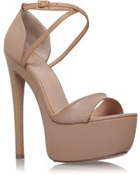 KG by Kurt Geiger | Nanette Leather Platform | Lyst