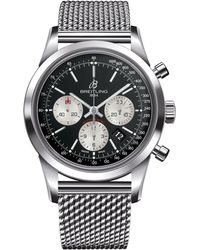 Breitling - Transocean Automatic Chronograph Watch 43mm - Lyst