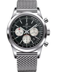 Breitling - Transocean Automatic Chronograph Watch 43mm - Lyst