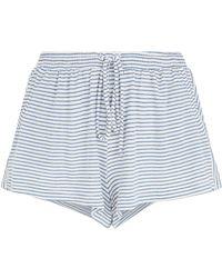 Eberjey - Georgie Basic Stripe Pyjama Shorts - Lyst