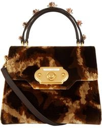 Dolce & Gabbana - Soft Giraffe Print Welcome Bag - Lyst