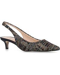 Sam Edelman - Tweed Ludlow Slingback Court Shoes 40 - Lyst