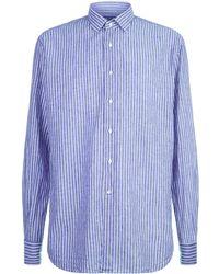 Harrods - Stripe Printed Shirt - Lyst