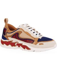 Sandro - Flame Print Sneakers - Lyst