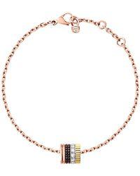 Boucheron - Yellow Gold And Diamond Quatre Classique Bracelet - Lyst