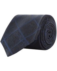 Armani - Silk Diamond Printed Tie - Lyst