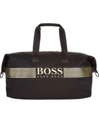 BOSS Green - Logo Holdall Bag - Lyst