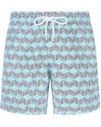Vilebrequin - Okoa Mini Fish Print Swim Shorts - Lyst