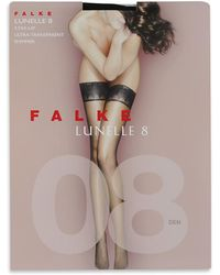 Falke - Black Lunelle 8 Stockings - Lyst