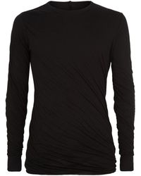 Rick Owens - Long Double Layer T-shirt - Lyst