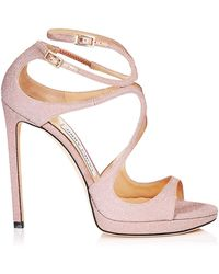 Jimmy Choo - Lance 120 Leather Sandals - Lyst