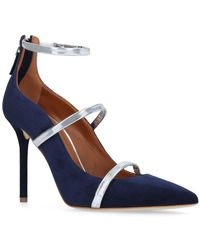 Malone Souliers - Suede Robyn Court Shoes 100 - Lyst