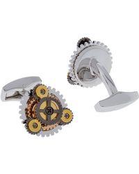Tateossian - Rotondo Gear Cufflinks - Lyst