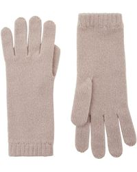 Harrods - Knitted Cashmere Gloves - Lyst