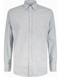 Canali - Cotton Long Sleeve Shirt - Lyst