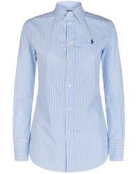 Polo Ralph Lauren - Kendal Striped Shirt - Lyst