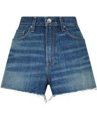 Rag & Bone - Justine Cut-off Denim Shorts - Lyst