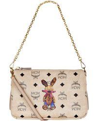MCM - Medium Rabbit Cross Body Bag - Lyst