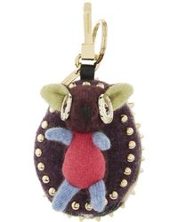 Burberry - Bob The Hedgehog Cashmere Charm - Lyst