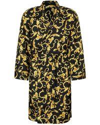 Versace - Silk Baroque Robe - Lyst
