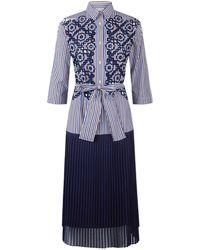 Sandro - Dropped Waist Dress - Lyst