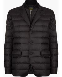 Canali - Quilted Gilet Zip Jacket - Lyst