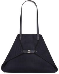 Akris - Ai Textured Medium Shoulder Bag - Lyst