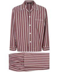 Harrods | Pinstripe Pajama Set | Lyst