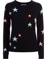Chinti & Parker - 3d Star Cashmere Sweater - Lyst